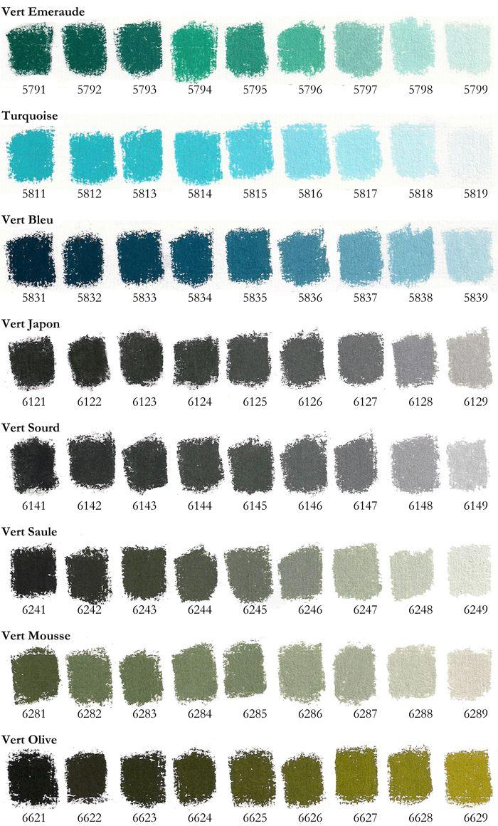 Colorchart6rochg 7001160 Soft Pastel Pinterest