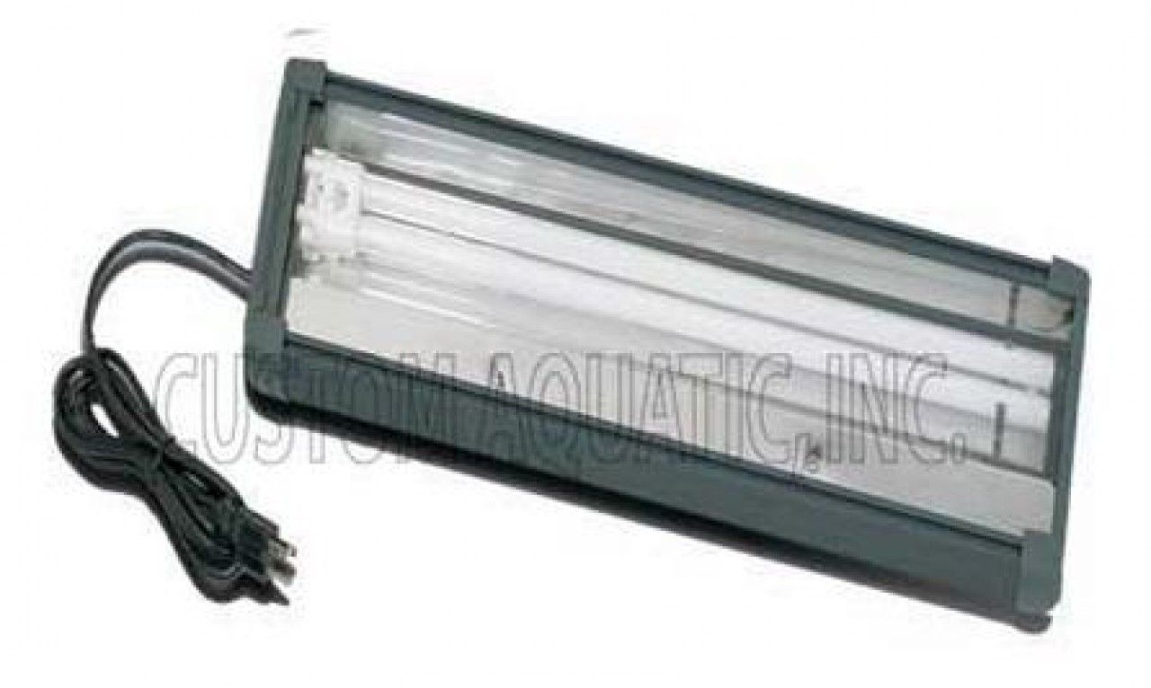 These Single Tube Power Compact Fluorescent Light Fixtures From