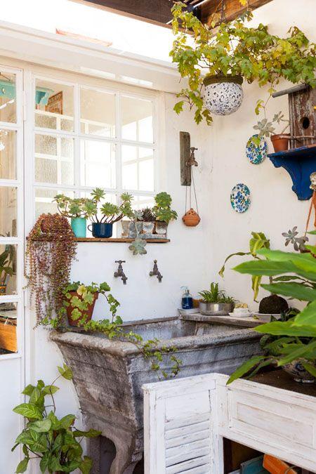 Interiores 161 laboratorio de colores casas 2 - Decoracion patios pequenos ...