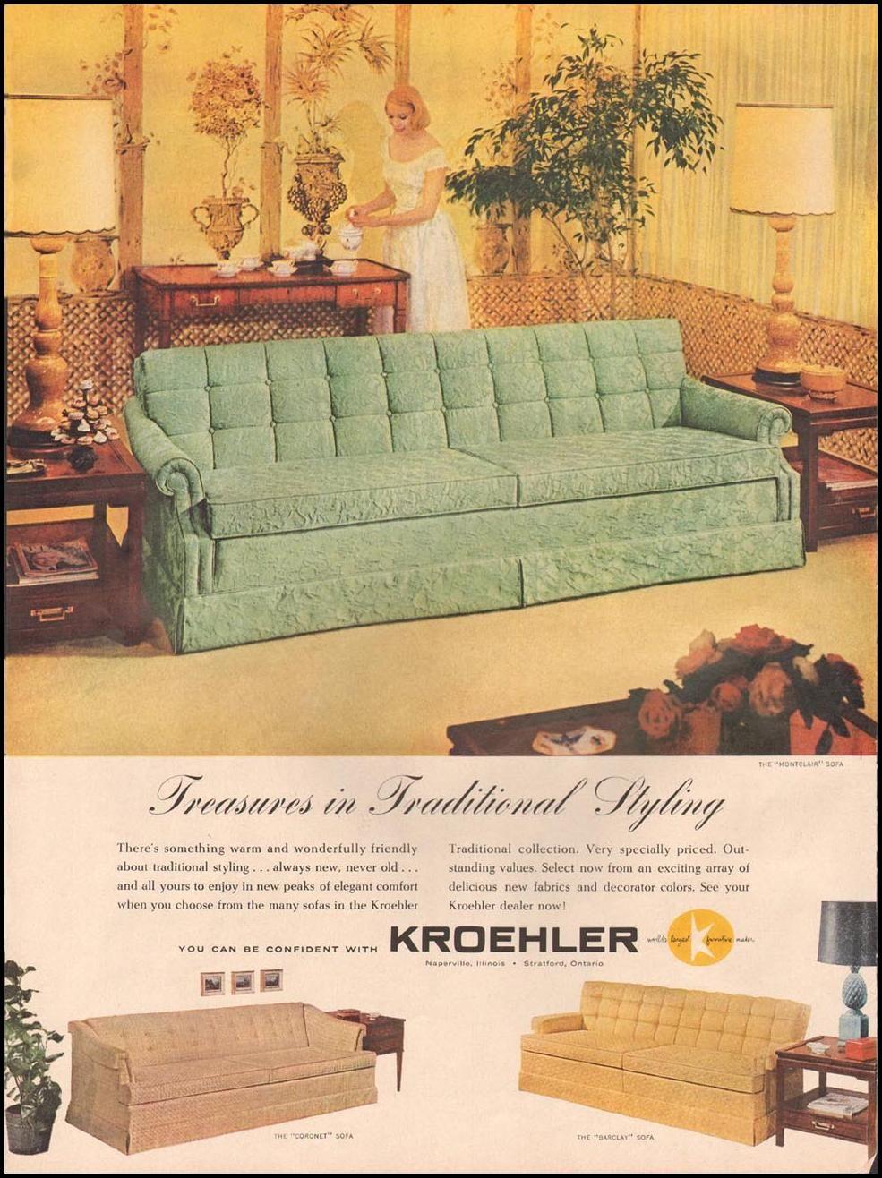 Kroehler Furniture Kroehler Furniture Furniture Vintage Sofa