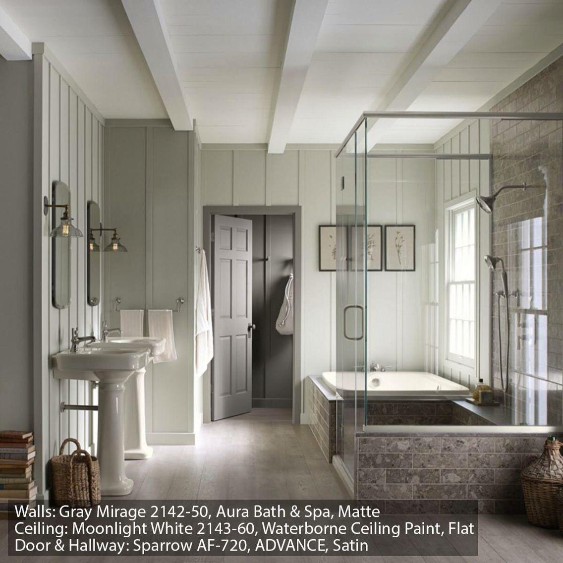 Benjamin Moore Aura Bath Spa Color Your World Pinterest