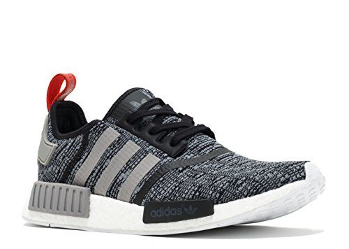 Adidas NMD_R1 Men's Running Shoes Core Black/Vibrant Red/Running White  bb2884 (10