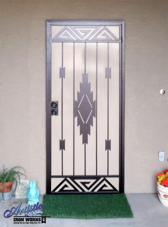 Security Doors Screen Door Metal Screen Doors Wrought Iron Security Doors