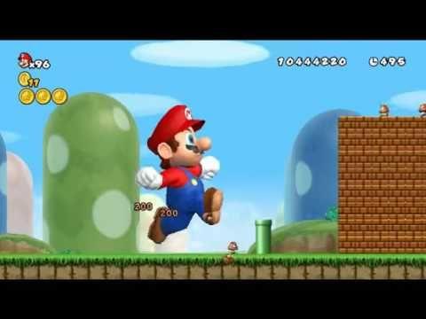 Newer Super Mario Bros Wii Development 54 Super Mario Bros Mario Bros Super Mario