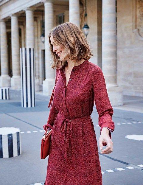 Paula Shirt Dress | Boden | Smart day dresses, Shirt dress