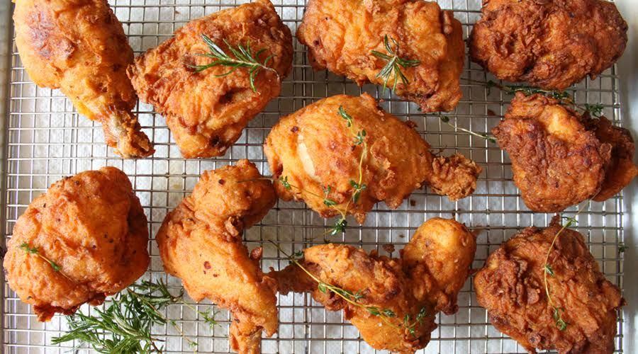 Recipe Southern Fried Buttermilk Chicken Buttermilk Fried Chicken Healthy Fried Chicken Recipes Fried Chicken Recipes