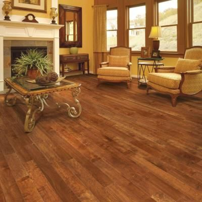 Home Legend Hand Scraped Maple Country 3 8 In T X 4 3 4
