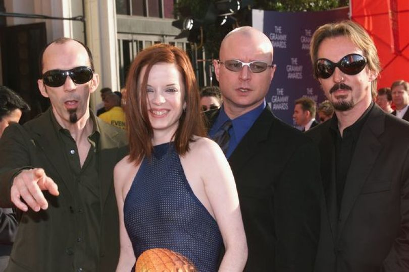 #Garbage at the 1999 Grammy Awards held in Los Angeles on Feb. 24, 1999. (Photo by Frank Micelotta )