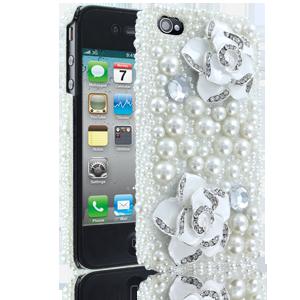 Cellairis iPhone 4/4S DeBari Peral Rose Fashion Case!