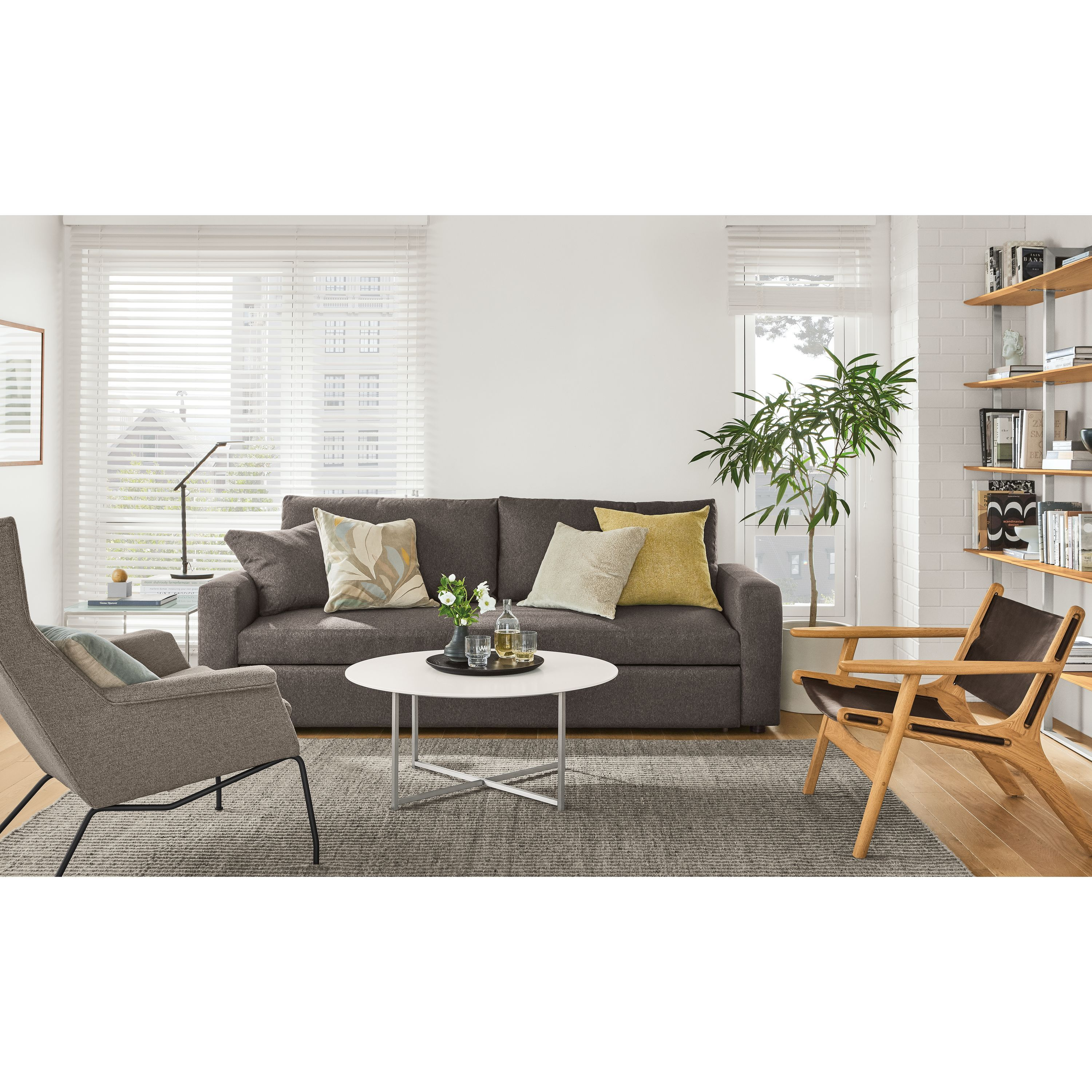 - Room & Board Classic Coffee Tables In Stainless Steel Products