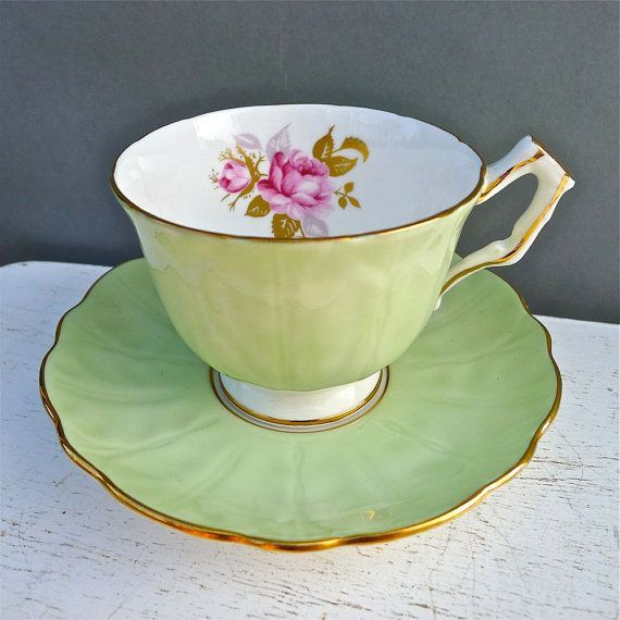 1960 Aynsley Tea Cup #teacup
