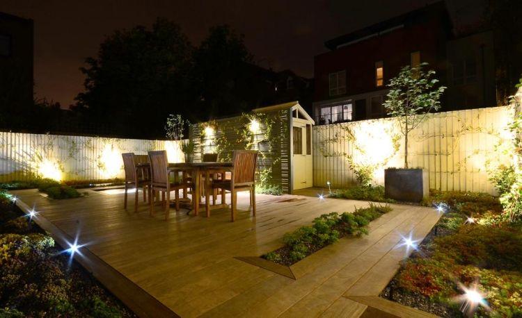clairage ext rieur led en 50 id es de luminaire de. Black Bedroom Furniture Sets. Home Design Ideas