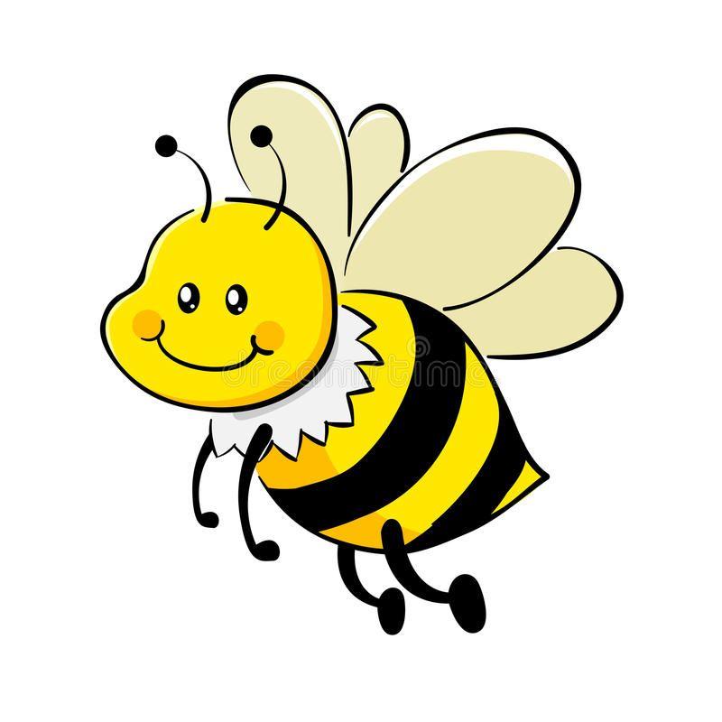 Honey Bee Vector Illustration Of A Cute Honey Bee Aff Vector Bee Honey Illustration Bee Ad Bee Drawing Honey Bee Drawing Bee Clipart