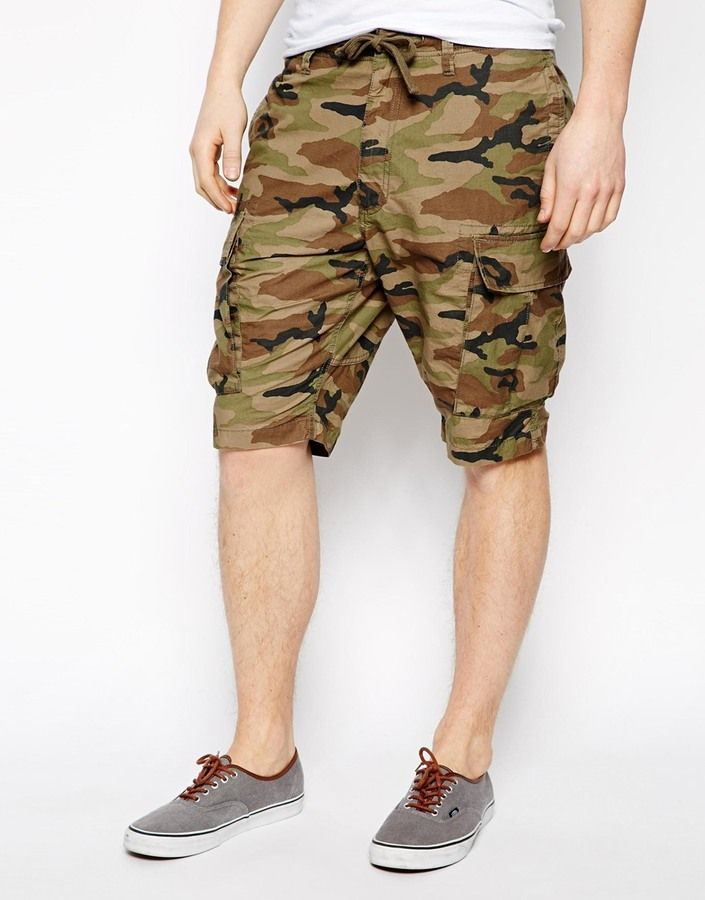 36f72d2b71f Vans Fowler Cargo Shorts With Camo on shopstyle.co.uk