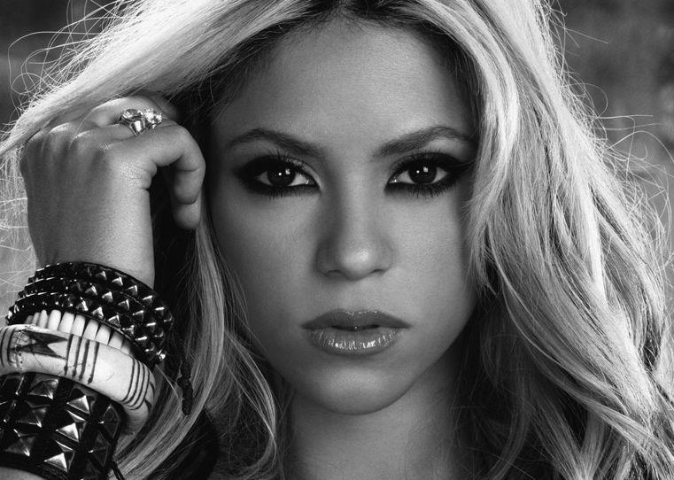 Shakira Isabel Mebarak Ripoll   Maquillaje ojos marrones ...
