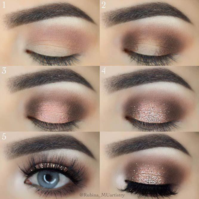 Glitter Smokey Eye Makeup For Every Occasion Smokey Eye Makeup