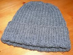 Tuto Bonnet Tricot Adulte Knitting Loom Knit Hat