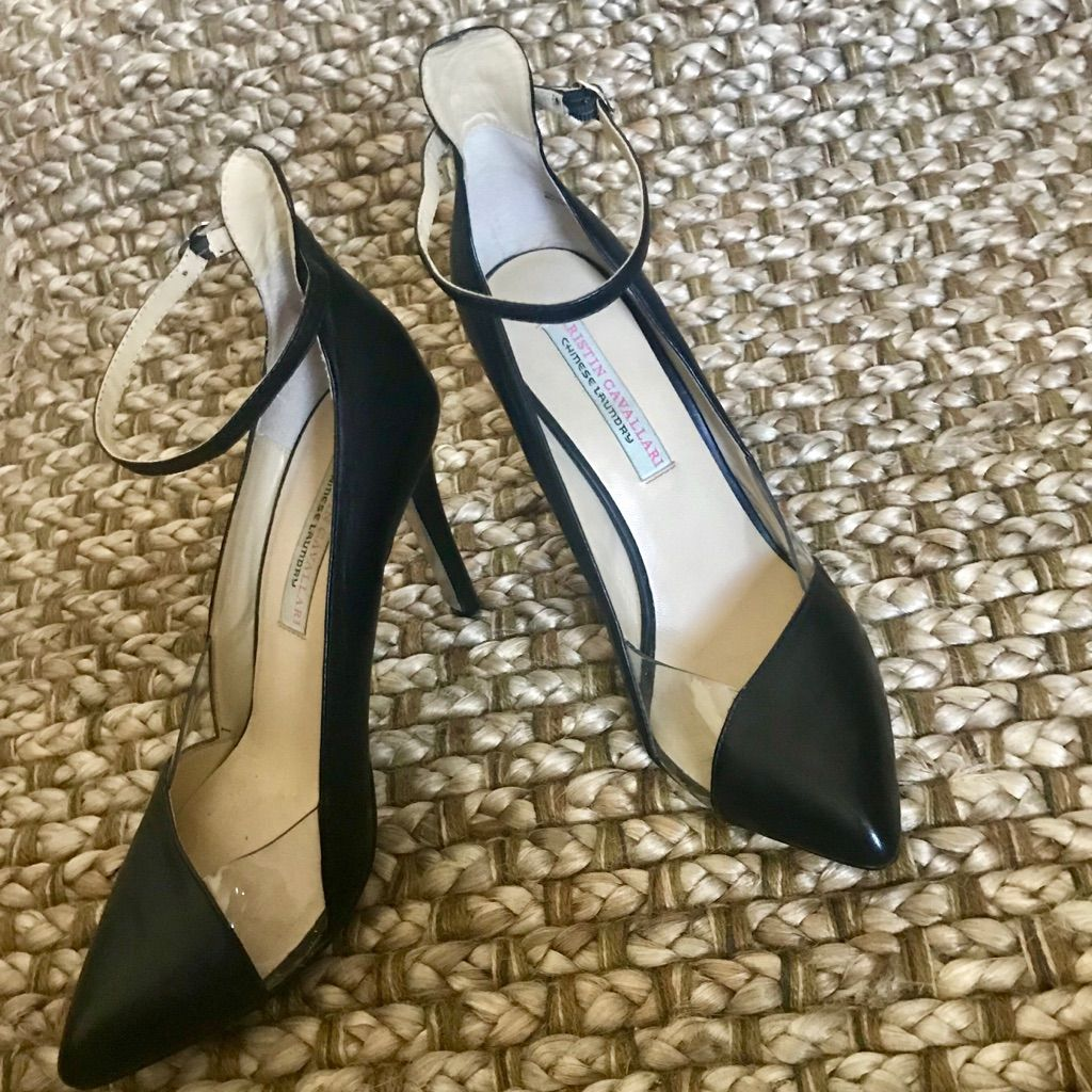 Kristin Cavallari For Chinese Laundry Black Heels Shoes Women