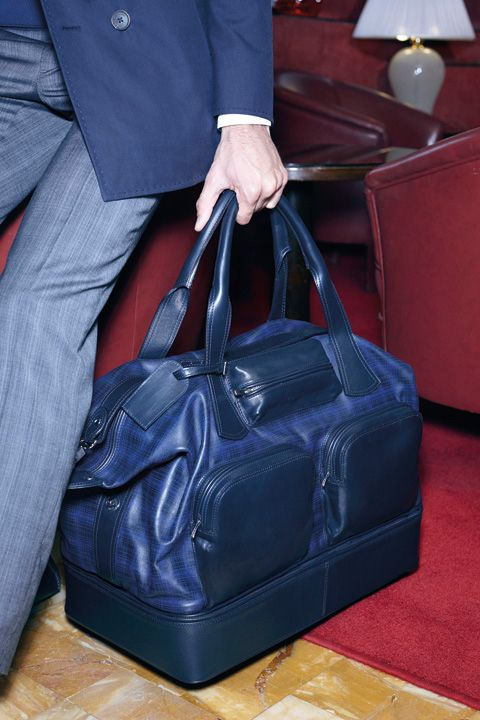 244054b002a7 Men's Accessories · Cortigiani Mens Luggage, Amazing Watches, Duffel Bag,  Money Bags, Stylish Men,