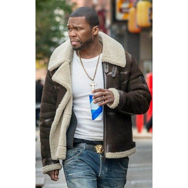 Style Cents Ability: 50 Cent Power Shearling Leather Jacket In 2019