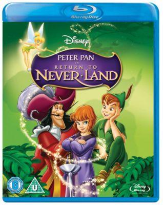 Peter Pan 2 Return To Neverland Blu Ray Ultimate Disneychildren