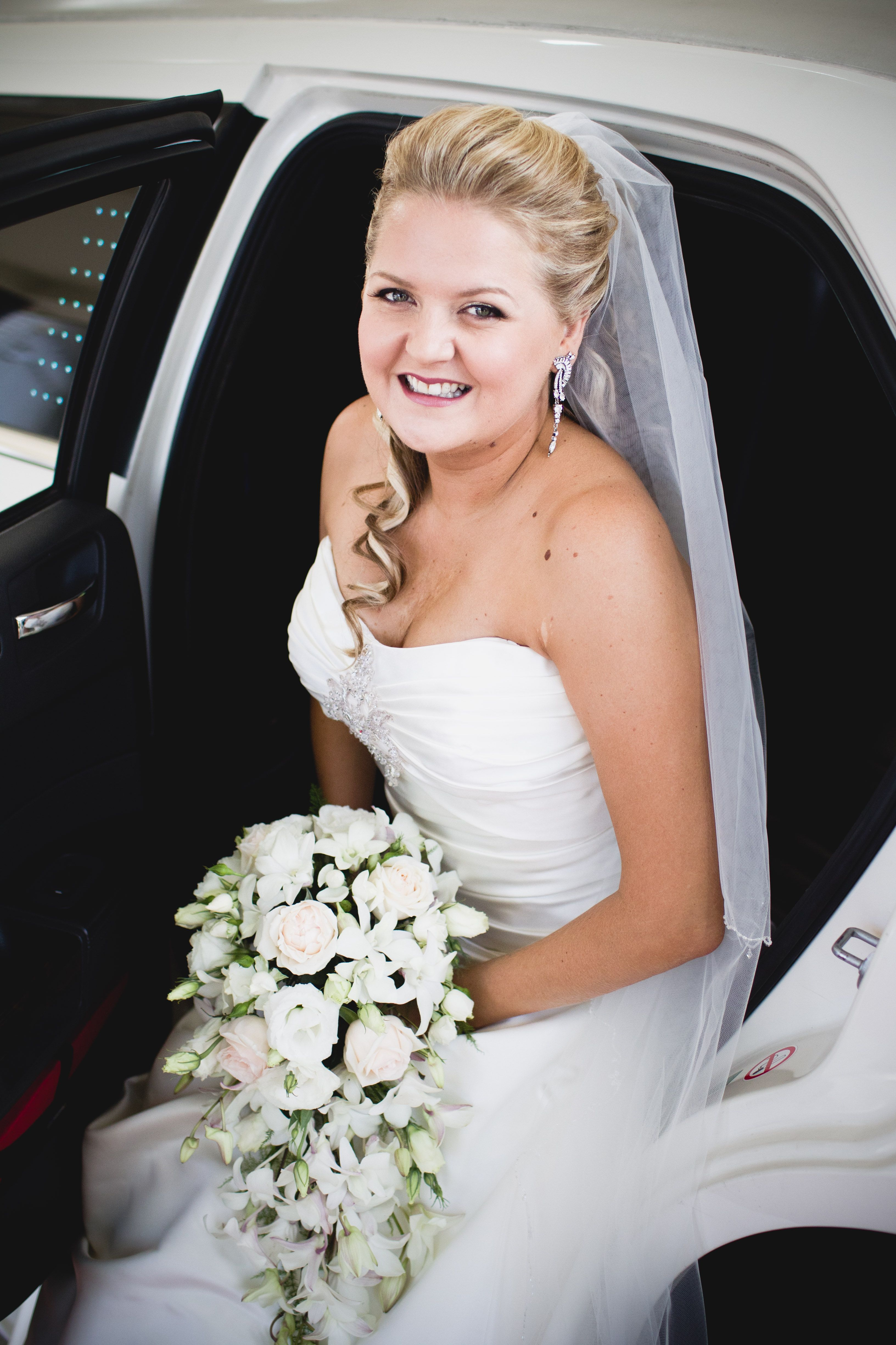 Wedding hair and make up by Canary Hair and Beauty