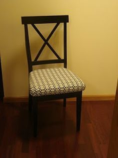 How To Add A Padded Seat To A Wooden Chair For Our