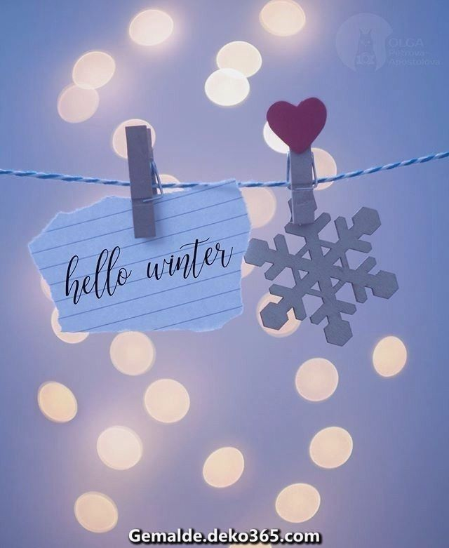 Fantastische Hallo winter #hallodezember