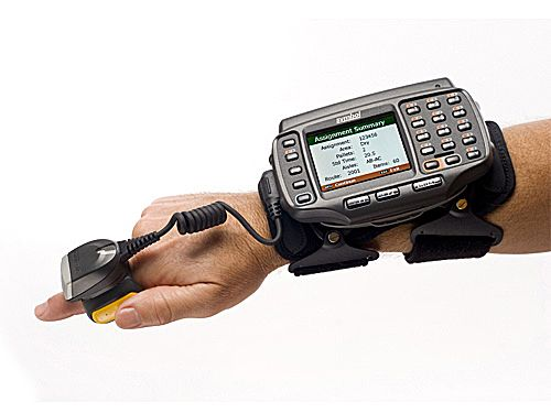 This Arm Mounted Mobile Computer Allows Warehouse Workers