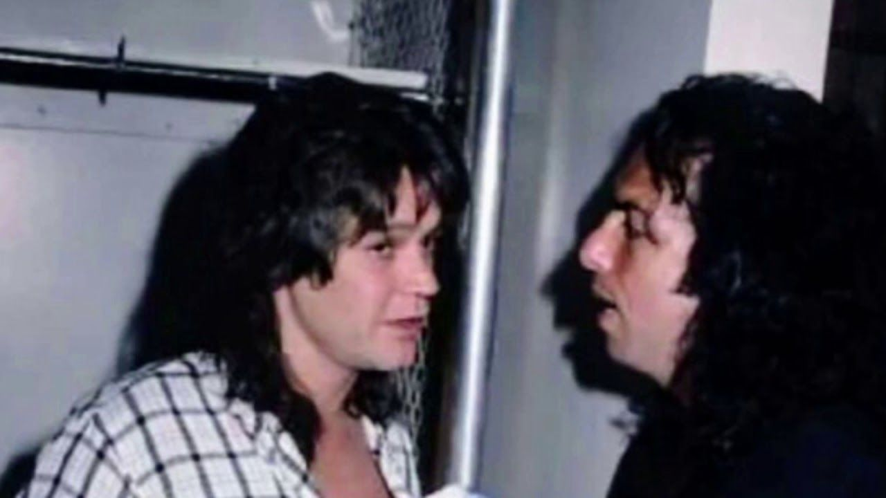 Paul Stanley On Eddie Van Halen Youtube Eddie Van Halen Van Halen Paul Stanley