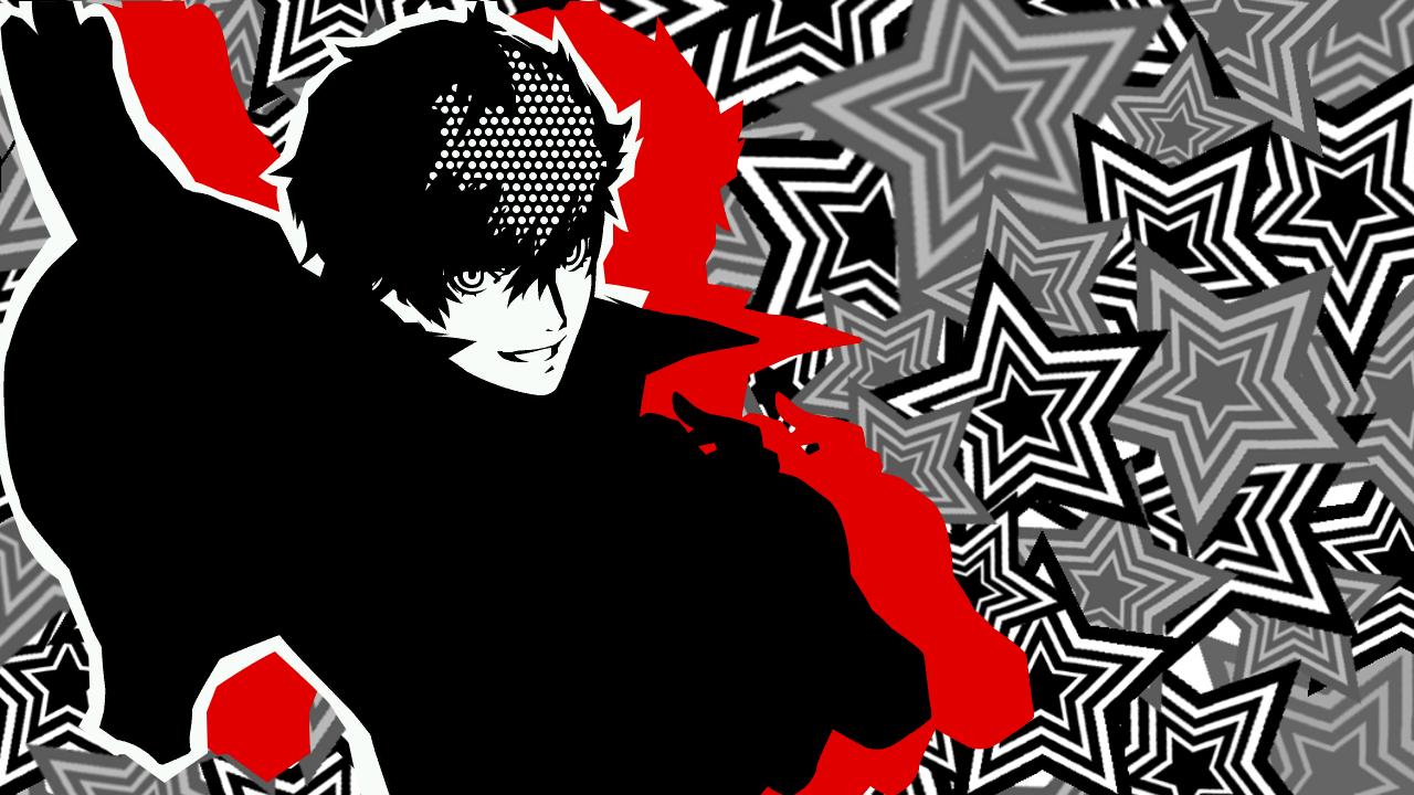 1 Ryuji Fan Mobile Headers Using The Joker Art From The Menus Persona 5 Anime Geek Stuff Geek Clothes