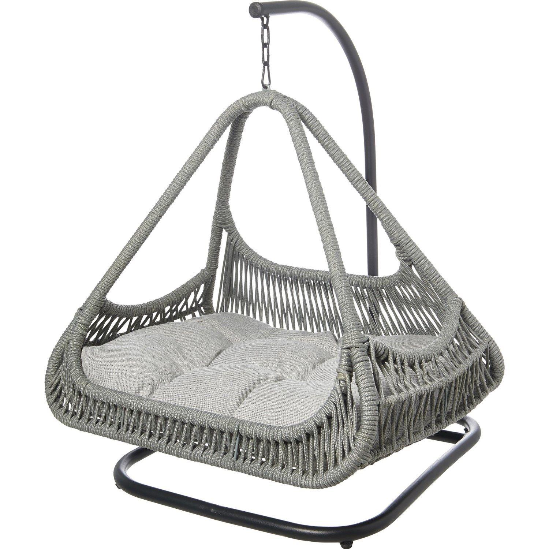 Specially made Grey IndoorOutdoor Swing Pet Bed