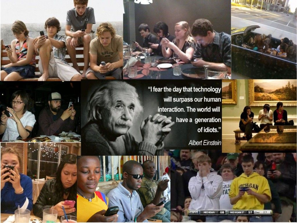 Einstein: « I fear that technology one day will surpass ...I Fear The Day That Technology Will Surpass Our Human Interaction