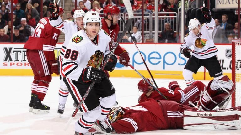Patrick Kane is the NHL's first star of the week Patrick