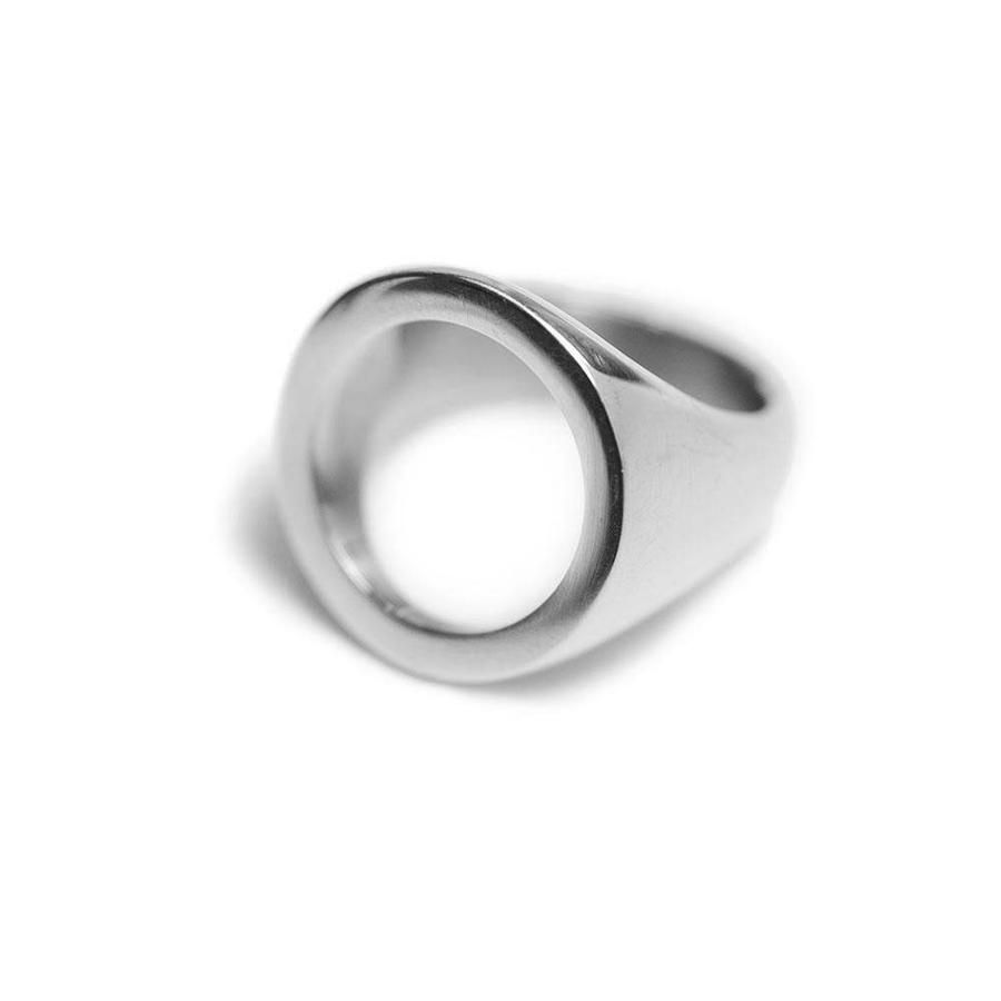 circle silver ring,Open silver ring,Infinity silver ring,Everyday silver ring,Modern ring