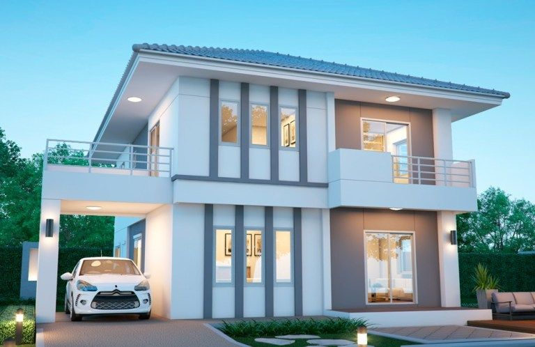House Design Plan 11x11m With 5 Bedrooms Home Ideas Home Design Plans Building Plans House House Design