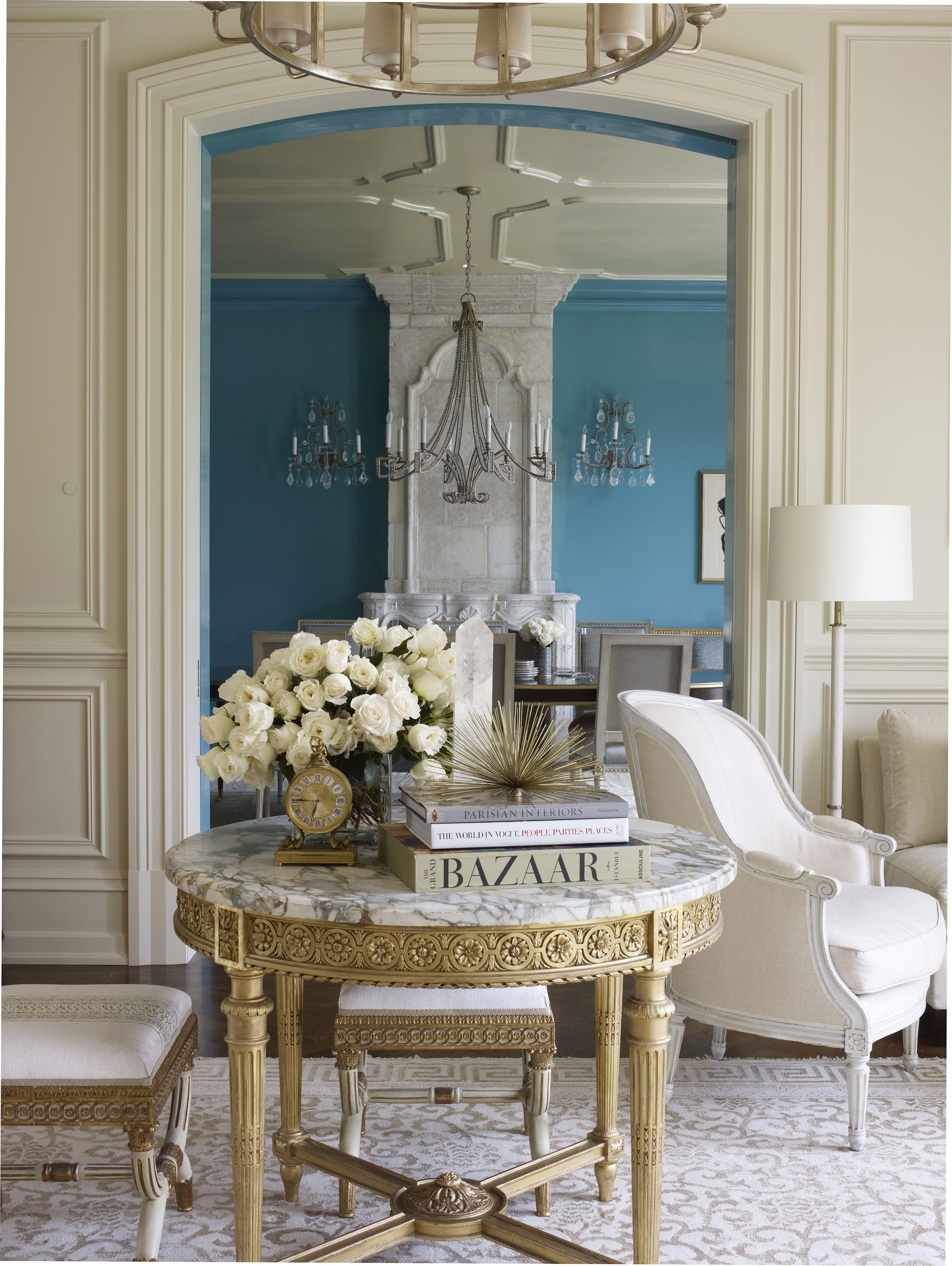 Suzanne Kasler Brilliantly Unites Color Elegance By Suzanne