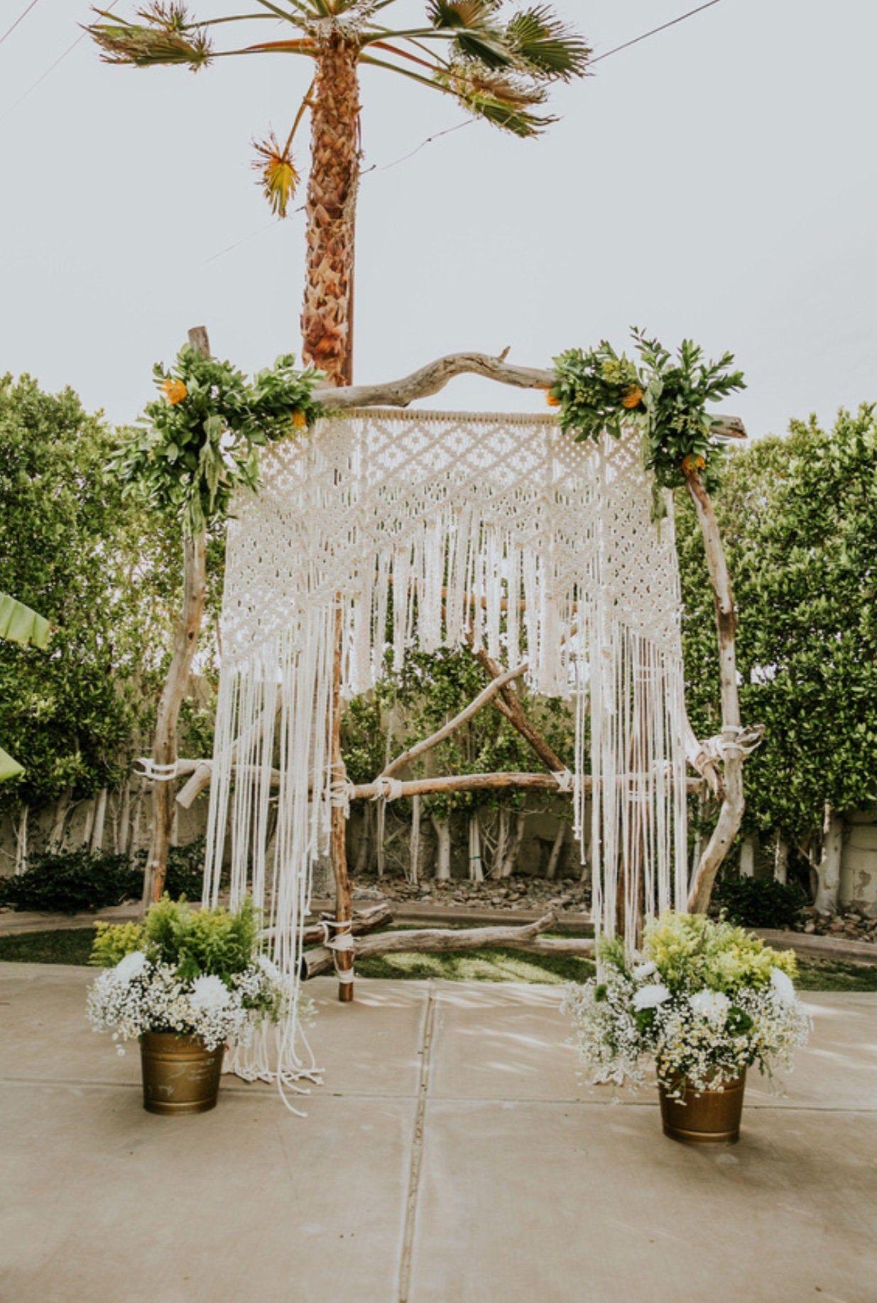 Rental Macrame Wedding Backdrop Wedding Arch Large Macrame Etsy Macrame Wedding Macrame Wedding Backdrop Wedding Backdrop Rentals