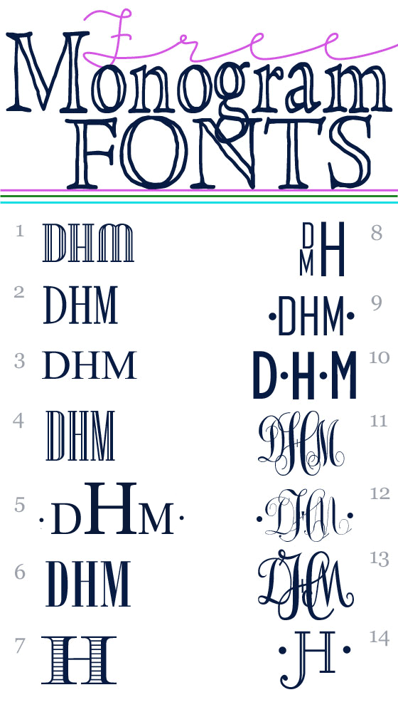 Monogram Fonts Free On Pinterest Embroidery Fonts