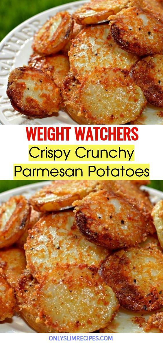 Crispy Crunchy Parmesan Potatoes //