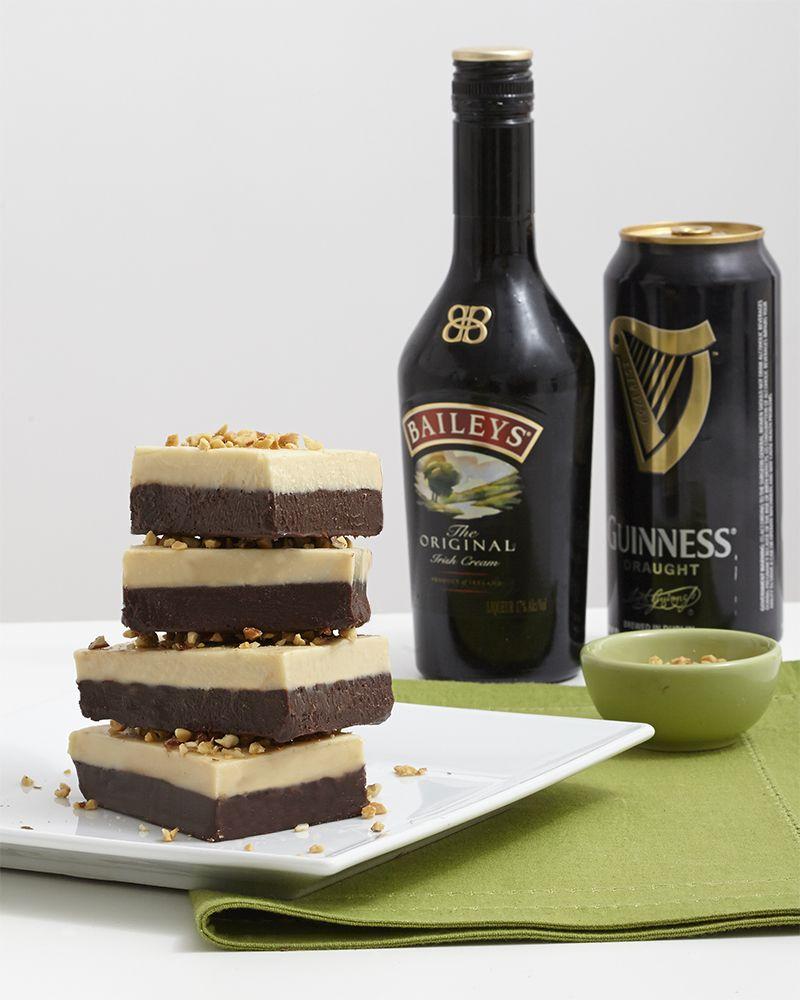 Stout Fudge Recipe: Bailey's & Guinness St. Patrick's Day