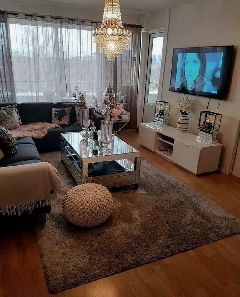 28 Affordable Apartment Living Room Ideas Affordableapartment Apartmentdecor A Living Room Decor Apartment Apartment Living Room Design Elegant Living Room
