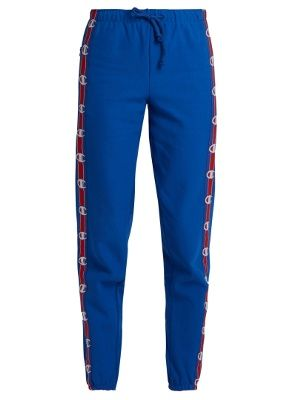 466ef965ecf3 X Champion cotton-blend track pants