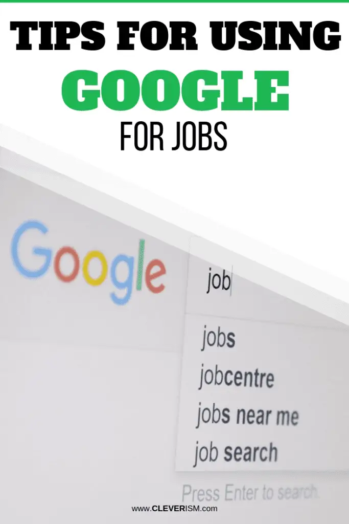 Pin On Efficient Job Search Cleverism