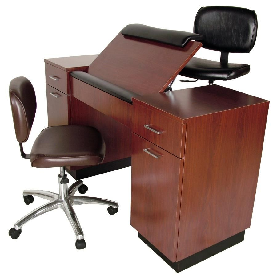 Nail techs no more back neck or shoulder aches with this for Nail technician table