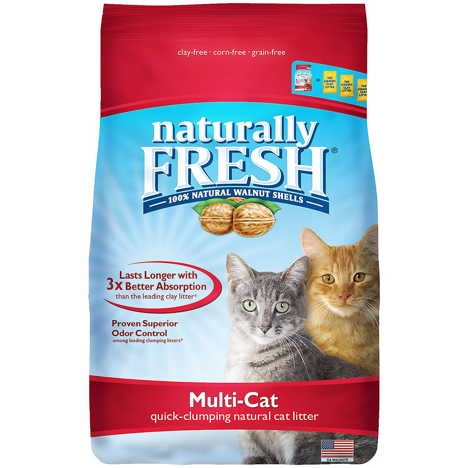 Naturally Fresh Unscented QuickClumping Formula MultiCat