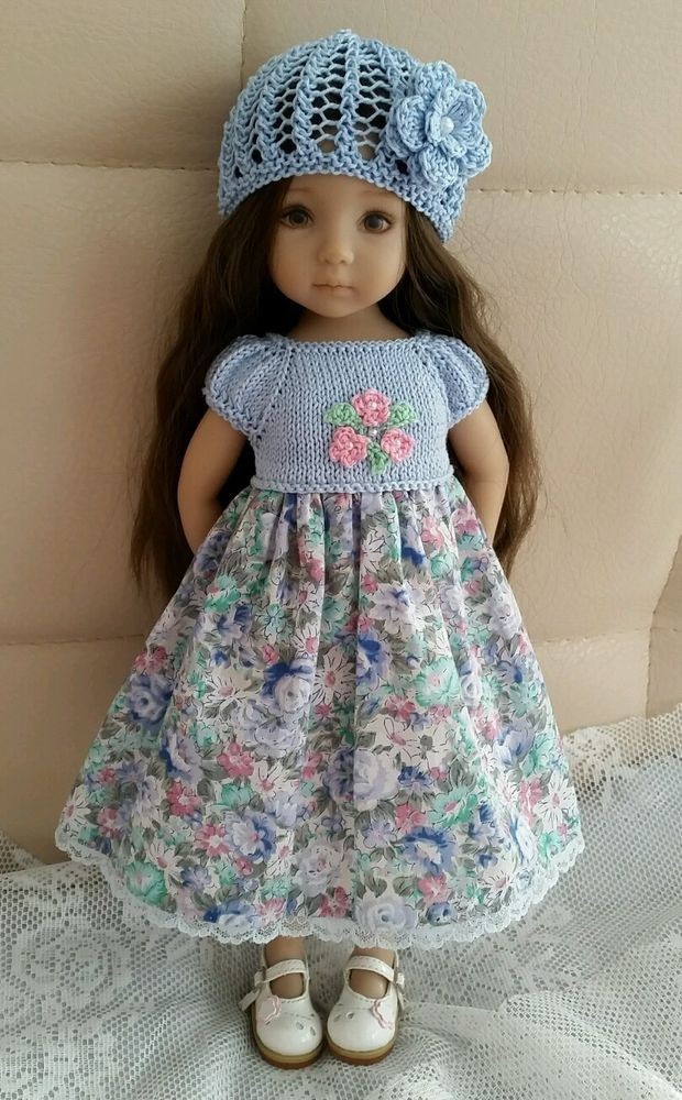 Handknitted outfit for Dianna Effner Little Darling 13\