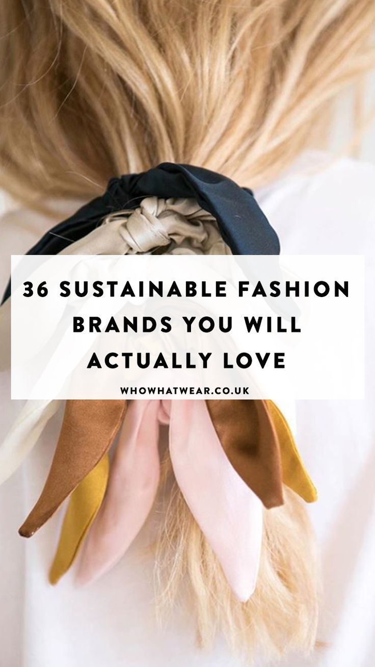 36 Conscious Fashion Brands I'm 100% Buying Into