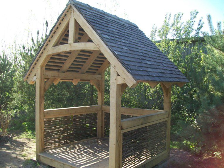 traditional timber frame buildings rustic carpentry tiny houses