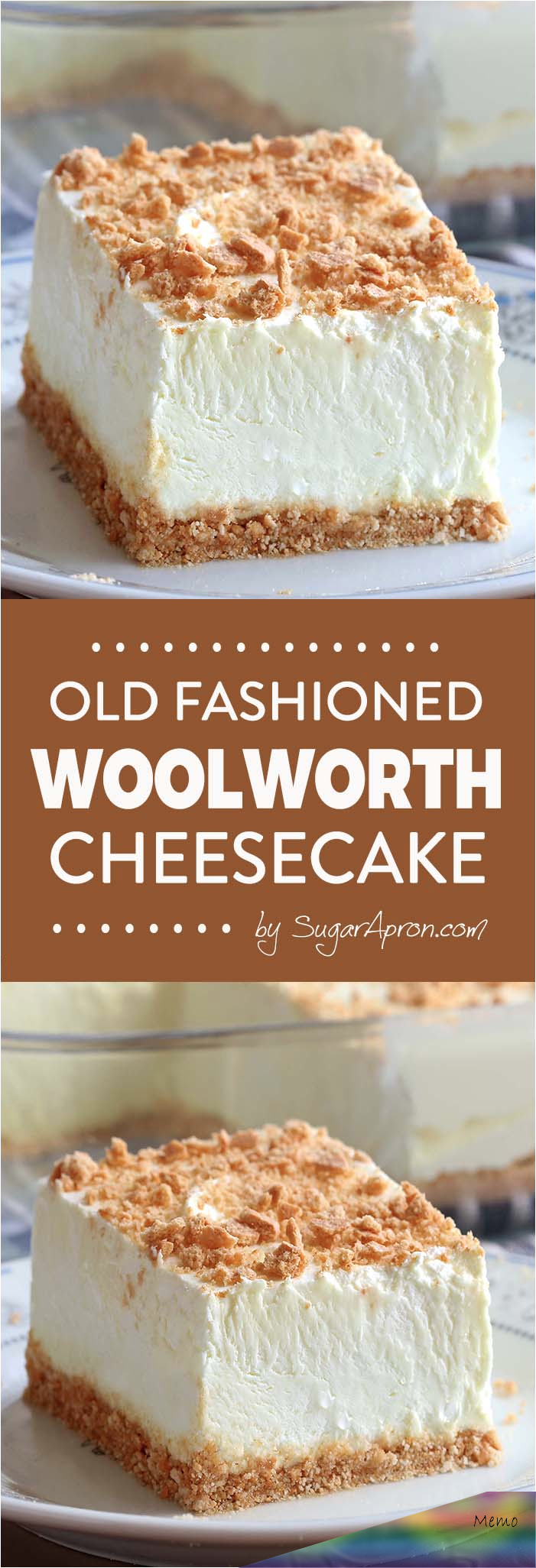 No Bake Woolworth Cheesecake is a classic, light and lemony dessert and will be the perfect addition to your Easter or Motherâ€s Day menu!
